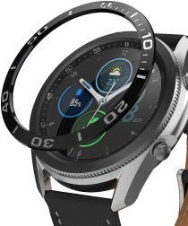 Ringke Bezel Styling Galaxy Watch 3 45MM Randbeschermer RVS Black
