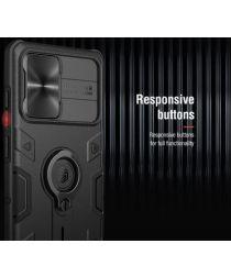 Nillkin CamShield Samsung Galaxy Note 20 Hoesje Slider Zwart