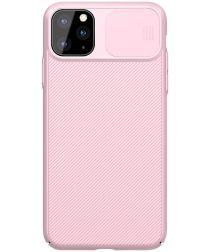 Nillkin CamShield Apple iPhone 11 Pro Hoesje met Camera Slider Roze