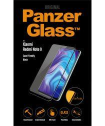 PanzerGlass Xiaomi Redmi Note 9 Screenprotector Case Friendly Zwart