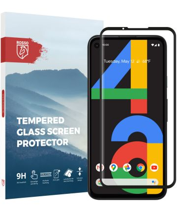 Rosso Google Pixel 4A 9H Tempered Glass Screen Protector Screen Protectors