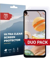 Rosso LG K61 Ultra Clear Screen Protector Duo Pack