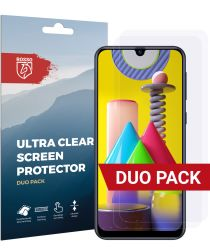 Rosso Samsung Galaxy M31 Ultra Clear Screen Protector Duo Pack
