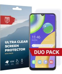 Rosso Samsung Galaxy M21 Ultra Clear Screen Protector Duo Pack