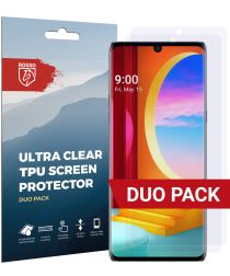 Rosso LG Velvet Ultra Clear Screen Protector Duo Pack