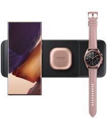 Originele Samsung 3-in-1 Draadloze Oplader Smartphone/Buds/Watch Zwart