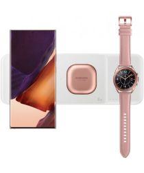 Originele Samsung 3-in-1 Draadloze Oplader Smartphone/Buds/Watch Wit