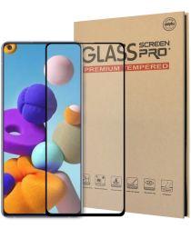 Samsung Galaxy A21s Screenprotector 2.5D Arc Edge Tempered Glass