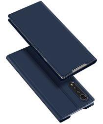Dux Ducis Skin Pro Series LG Velvet Wallet Hoesje Blauw