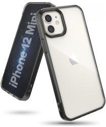Ringke Fusion Apple iPhone 12 Mini Hoesje Transparant/Zwart