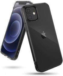 Ringke Fusion Apple iPhone 12 / 12 Pro Hoesje Transparant Zwart