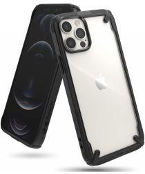 Ringke Fusion X Apple iPhone 12 / 12 Pro Hoesje Transparant Zwart