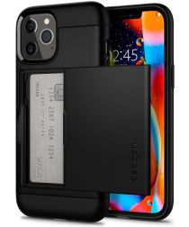 Spigen Slim Armor CS Apple iPhone 12 Pro Max Hoesje Zwart