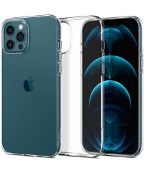 Spigen Liquid Crystal iPhone 12 / 12 Pro Hoesje Transparant