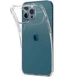 Spigen Liquid Crystal iPhone 12 / 12 Pro Hoesje Transparant