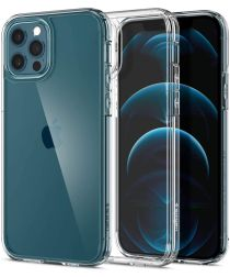 Spigen Ultra Hybrid Apple iPhone 12 / 12 Pro Hoesje Transparant
