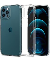 Spigen Ultra Hybrid Apple iPhone 12 / 12 Pro Hoesje Transparant