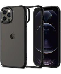 Spigen Ultra Hybrid Apple iPhone 12 / 12 Pro Hoesje Transparant/Zwart