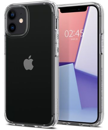Spigen Ultra Hybrid Apple iPhone 12 Mini Hoesje Transparant