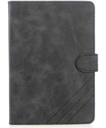Apple iPad mini 1/2/3/4/(2019) 7.9 inch Wallet Tri-fold Hoes Zwart