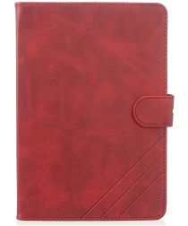 Apple iPad mini 1/2/3/4/(2019) 7.9 inch Wallet Tri-fold Hoes Rood