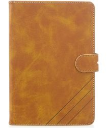 Apple iPad mini 1/2/3/4/(2019) 7.9 inch Wallet Tri-fold Hoes Bruin
