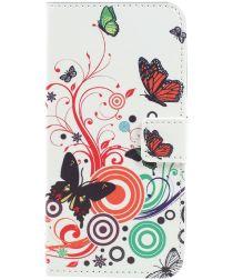 Samsung Galaxy A3 (2017) Portemonnee Hoesje met Cirkel Print