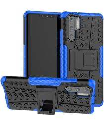 Hybride Huawei P30 Pro Back Cover Blauw