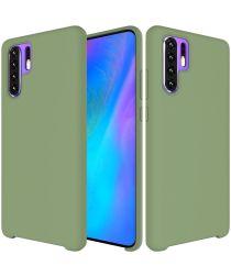 Huawei P30 Pro Siliconen Hoesje Groen