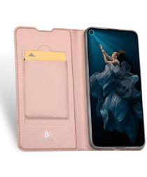 Dux Ducis Skin Pro Series Huawei P Smart Pro Hoesje Portemonnee Roze