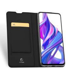 Dux Ducis Skin Pro Series Honor 20/Huawei Nova 5T Wallet Hoesje Zwart
