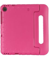 Lenovo Tab M10 Plus Kinder Tablethoes met Handvat Roze
