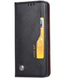 Xiaomi Redmi Note 9 Portemonnee Hoesje Bookcase Zwart