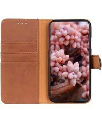 Xiaomi Redmi 9A Hoesje Vintage Wallet Bruin