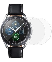 Samsung Galaxy Watch 3 45MM Screenprotector 3D Tempered Glass (2-Pack)