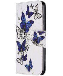 Nokia 2.3 Wallet Hoesje met Vlinder Print