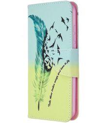 Nokia 1.3 Portemonnee Hoesje met Vogel Print