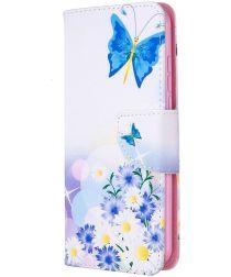 Nokia 1.3 Portemonnee Hoesje met Vlinders Print