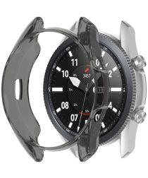 Samsung Galaxy Watch 3 45MM Hoesje Flexibel TPU Bumper Grijs