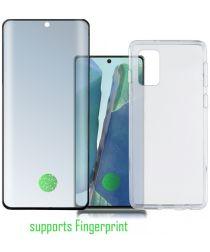 4smarts Samsung Galaxy Note 20 360° Premium Protection Set Zwart