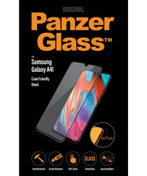 PanzerGlass Samsung Galaxy A41 Screenprotector Case Friendly Zwart