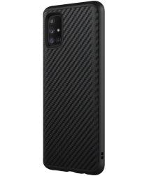 RhinoShield SolidSuit Samsung Galaxy A51 Hoesje Carbon Fiber