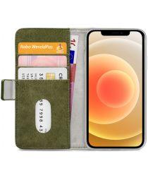 Mobilize Elite Gelly Wallet Apple iPhone 12 / 12 Pro Hoesje Groen