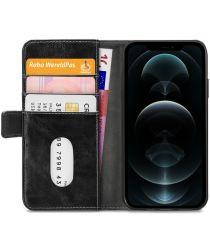 Mobilize Elite Gelly Wallet Book Apple iPhone 12 Pro Max Hoesje Zwart