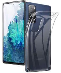 Samsung Galaxy S20 FE Hoesje Flexibel en Dun TPU Transparant