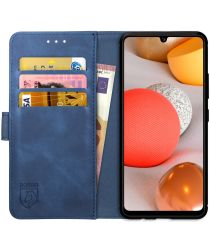 Rosso Element Samsung Galaxy A42 5G Hoesje Book Cover Blauw