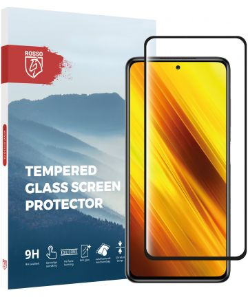 Rosso Xiaomi Poco X3 / X3 Pro Screenprotector 9H Tempered Glass Screen Protectors