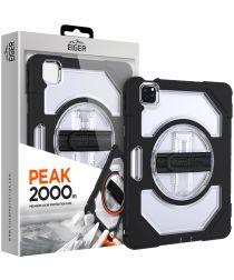 Eiger Peak 2000m Apple iPad Air (2020) Hoes Zwart / Transparant