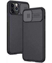 Nillkin CamShield Apple iPhone 12 / 12 Pro Hoesje Camera Slider Zwart