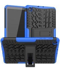 Hybride Samsung Galaxy Tab A8.4 (2020) Back Cover Blauw